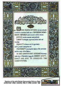 Constitution of India - Fundamental Rights, Directive Principles and Fundamental Duties of India - Wikipedia Social Studies Notebook, Teaching Social Studies, History Education, Teaching History, Constitution Day India, Directive Principles, Republic Day India, American History Lessons, Amigurumi