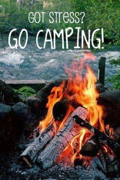 Camping would GIVE me stress. Glad my kids are grown and the camping days are over! Camping Glamping, Camping And Hiking, Camping Life, Camping Meals, Camping Hacks, Camping Stuff, Backpacking, Camping Baby, Rv Life