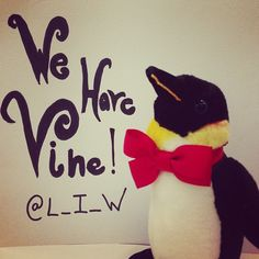 Leonard wants you to know, he has Vine! Don't dissapoint our fury friend, follow him!  @L_I_W