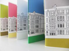 Glasgow notebook - small by peony and thistle - Folksy