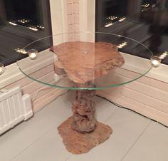 Vanhan pahkapöydän uusi elämä ruokapöytänä