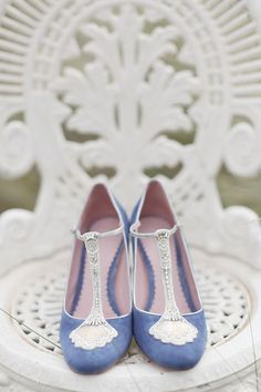 Snippets, Whispers and Ribbons – The Most Perfect Bridal Shoes for a Vintage Bride