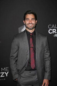 Tyler Hoechlin at the Call Me Crazy: A Five Film World Premiere