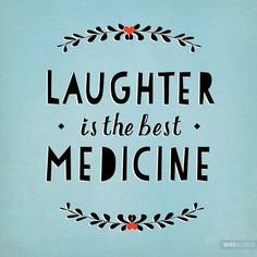 Laughter is the best medicine. || www.penelopeandpip.com