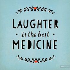 Laughter is the best medicine. || www.penelopeandpip.com