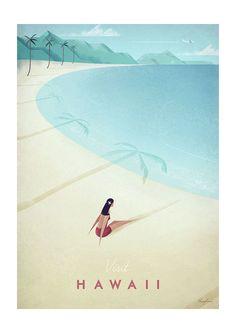 East End Prints Ltd - Visit Hawaii, £19.95 (http://www.eastendprints.co.uk/products/visit-hawaii.html)