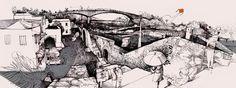 SANTA BARBARA,  Ancient Colonial Slave Quarters