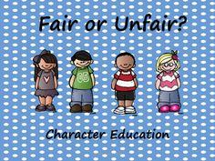 Fair or Unfair? by Books and Bows Lamb Craft, Social Studies Activities, Character Education, Summer School, First Grade, Classroom Management, Small Groups, Teacher Pay Teachers, Bobs