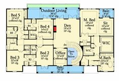 Stunning Six Bedroom Southern House Plan - 82073KA | 2nd Floor Master Suite, Butler Walk-in Pantry, CAD Available, Den-Office-Library-Study, Jack & Jill Bath, Luxury, MBR Sitting Area, Media-Game-Home Theater, PDF, Southern, Traditional | Architectural Designs