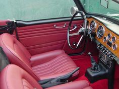 tr4 interior - Yahoo Image Search Results