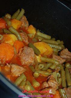 خوراك لوبيا سبز
