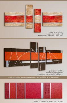 Cuadro Abstracto Arte 100% Original Metal + Textura + Color - $ 1.300,00 en MercadoLibre