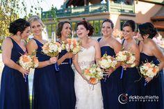 the girls ♥ #rickbouthiettephotography #tewksburycountryclubwedding  #nhweddings  #nhweddingphotographer  #elegantwedding  #funbridalpartyphoto
