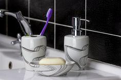 Banyonuzu Yeni Baştan Yaratacak Kadar Güzel Banyo Aksesuarları Toothbrush Holder, Soap Dispenser, Bathroom, Soap Dispenser Pump, Washroom, Full Bath, Bath, Bathrooms