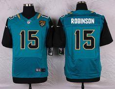 Jacksonville Jaguars 15 Robinson Green Elite Football Jerseys