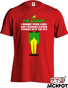ba27ee5e2 Buddy The Elf Movie Quote T Shirt Christmas Shirt Santa Claus Elf Movie  Quotes, Elf