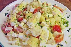 Kartoffel – Blumenkohl – Salat (Rezept mit Bild) von mima53   Chefkoch.de