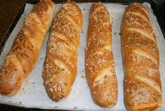 Hot Dog Buns, Bread, Baking, Onion Bread, Spices, Oven, Green Onions, Bread Making, Patisserie