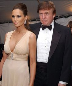 Donald & wife Melania Trump
