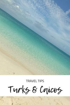 Turks and Caicos | Beaches in the Caribbean | #beachvacationdestinations #caribbeanvacation #beacheswithpalmtrees #thingstodointurksandcaicos