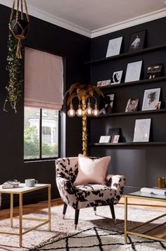 Interiors Expert Kate Watson-Smyth Shows You How to Create an Urban Glamour Look Using Fabrics from the New Collection of Curtains and Roman Blinds Interior Design, House Interior, Bedroom Decor, Home Remodeling, Home, Cheap Home Decor, Interior, Cheap Living Room Decor, Home Decor
