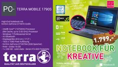 TERRA MOBILE 1790S i7-6700HQ *SSD* - Laptop / Notebook / Gaming / Highend