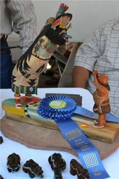 Bart Gasper kachina 1st place winner. Santa Fe Indian Market. http://santafeselection.com/blog/2013/08/20/santa-fes-indian-market/