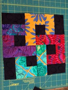 Make Double Four Patch Blocks that Are Just a Bit Different from the Norm: Finish Sewing the Double Four-Patch Quilt Blocks Batik Quilts, Jellyroll Quilts, Scrappy Quilts, Easy Quilts, Colchas Quilting, Crazy Quilting, Machine Quilting, Mini Quilts, Strip Quilts