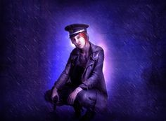 20 Wickedly Photo Manipulation Tutorials - Soldier Girl Standing in the Rain