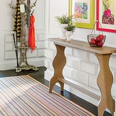Budget-Savvy Solution: Scrap-Wood Wainscot   Smart Cottage Style Home - Southern Living Mobile