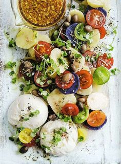 Heirloom tomato salad || Summertime has arrived
