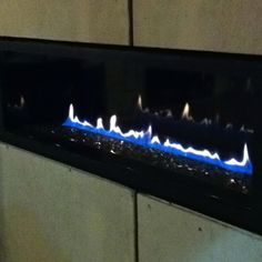 LHD50 gas fireplace with no surround. mar'12