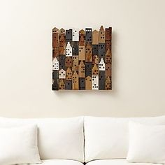 Village Wood Wall Art