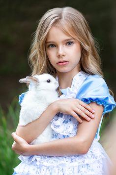 Alice by Liliya Arslanova Rabbit Photos, White Rabbits, Study Photos, Food Illustrations, Alice In Wonderland, Art Reference, Children, Kids, Cinderella