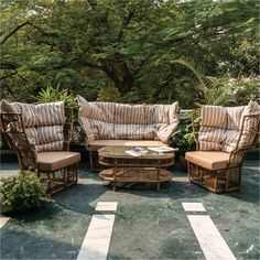 The Calyx Set is available in this beautiful muted, earthy colour, perfect for the summer. This is the most comfortable, and aesthetic outdoor set which will give your space functionality and character instantly. Visit our store in Kirti Nagar, New Delhi to take a closer look, and for more exciting outdoor furniture options :) #idusfurniture #furniture #outdoorfurniture #delhifurniture #outdoordecor #outdoorsofaset #balconydecor #terracefurniture #summer #sofa #sofaset
