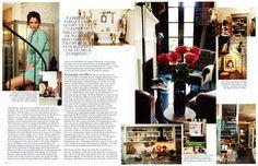 Helena Christensen home in New York, love it.