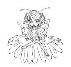 Butterfly fairy by *JadeDragonne on deviantART