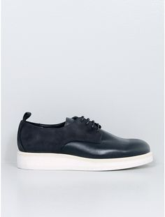 Public School leather/nubuck shoe