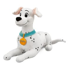 This soft plush from the disney animated classic 101 dalmations its tall, and it is of the mother dog perdita-- or perdy as pongo called her. it looks to be a soft cuddly plush that any child would love to have or even any adult disney fan as we. Disney Plush, Disney Toys, Baby Disney, Disney Stuffed Animals, Cute Stuffed Animals, Baby Doll Nursery, Disney Merchandise, Dalmatian, Doll Toys
