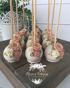 """Be a dreamer, a doer, a believer that anything is possible."" #cakepops…"