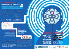 """Ouverture des inscriptions pour l'atelier """"LABYRINTHE"""" ! 15/20 ANS - DÉC./JUIN - GRATUIT INFOS au 06.77.75.48.35"""