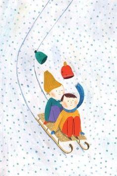 16 Ideas For Hat Illustration Kids Children Books Winter Illustration, Christmas Illustration, Children's Book Illustration, Christmas Art, Winter Christmas, Winter Pictures, Winter Art, Girl With Hat, Poster