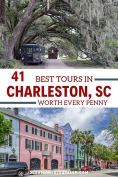 Whether you want to learn the about the history or the ghosts, or see the city from the water or from a horse-drawn carriage --one ( or three) of these Charleston tours is sure to work for you. Cruise Excursions, Cruise Port, Charleston Tours, Cool Places To Visit, Places To Go, South Carolina Vacation, Us Travel Destinations, Ghost Tour, Family Resorts