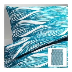 MALIN BLAD Duvet cover and pillowcase(s) - Full/Queen (Double/Queen)  - IKEA  What do you think, @Crystofer Joyner