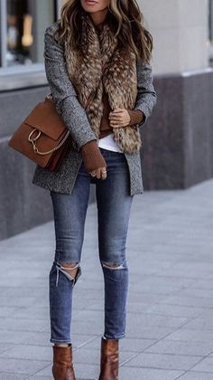 10 Of The Most Remarkable Winter Outfits That Look Terrific Casual Fall Outfits, Stylish Outfits, Winter Outfits, Mode Chic, Mode Style, Mode Outfits, Fashion Outfits, Womens Fashion, Fall Fashion Trends