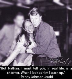 Penny Johnson Jerald quote about Nathan Fillion.