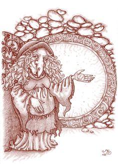 'Hidenory' - Rosie Lauren Smith Illustration for Miss Landon and Aubranael