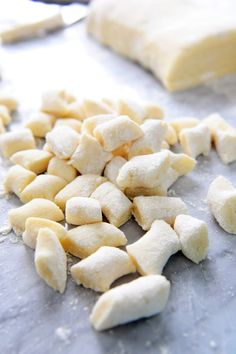 A detailed recipe for making homemade potato gnocchi with simple ingredients, some elbow grease and a little love.