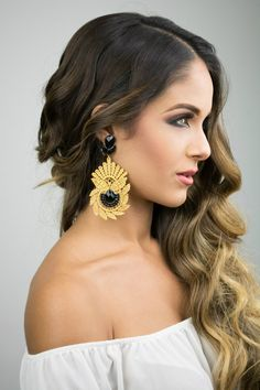 Wouldn't these beautiful Gold Earrings look awesome on your weekend outfit? Use…