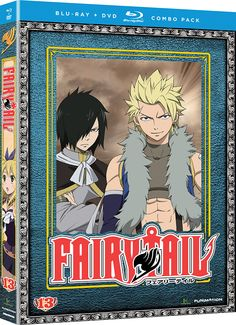 Fairy Tail DVD/Blu-ray Part 13 (Hyb) #RightStuf2014.